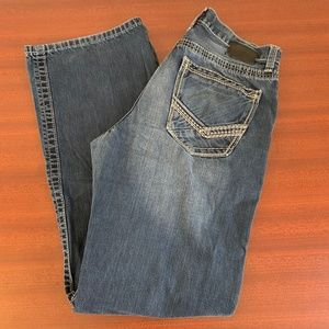 BKE Tyler Bootcut Distressed Pockets